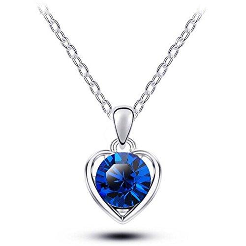 next-tues-korean-crystal-pendant-necklace-women-alloy-pendant-lady-jewelryblue-silver