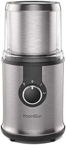 HadinEEon Electric Coffee grinder, 300W
