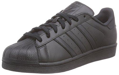 Adidas Superstar FunDamet Unisex Trænere Sort 67zN41tg9