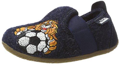 Living Kitzbühel T-Modell Tiger & Fußball Kahn - Zapatillas Niños Azul (Nachtblau)