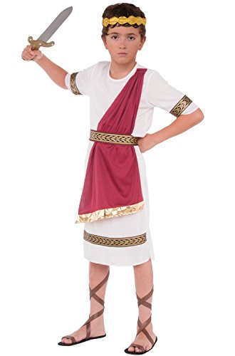 Ancient Greek Costumes For Boys (Forum Novelties Child's Caesar Costume)