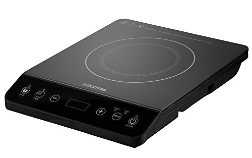 Gourmia GIC200 Multifunction Digital Portable 1800 Watt Induction Cooker  Cooktop Countertop Burner With SmartSense Auto Detection