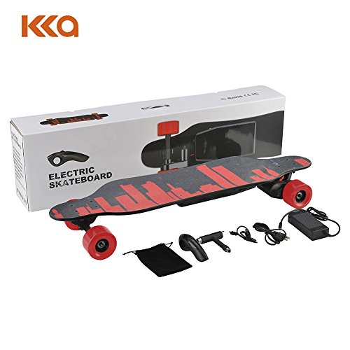 KKA Powerful 1500W Electric Skateboard/High Speed Electric Longboard/Motorized Board with Wireless Remote Control