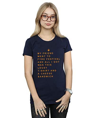 Friend Azul Marino Camiseta Festival Drewbacca From Cult Souvenir Mujer Absolute Fyre 7014q