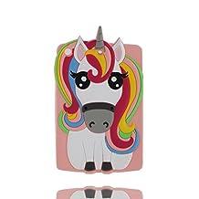 iPad Mini 2 étui, iPad Mini 2 Coque,iPad Mini 2 case. iPad Mini 2 cover,3D Magical Unicorn Pony Animal caoutchouc doux [Shock Proof] case cover pour iPad Mini 2 -Colorful,