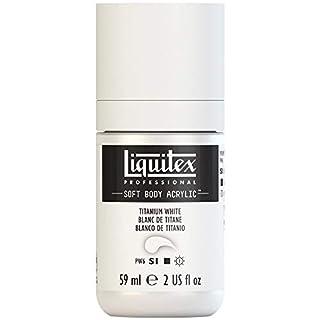 Liquitex Professional Soft Body Acrylic Paint 2-oz bottle, Titanium White