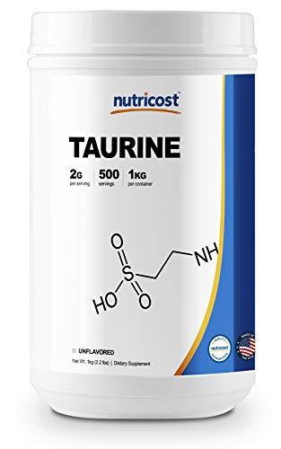 Nutricost Taurine Powder (1KG) - 500 Servings