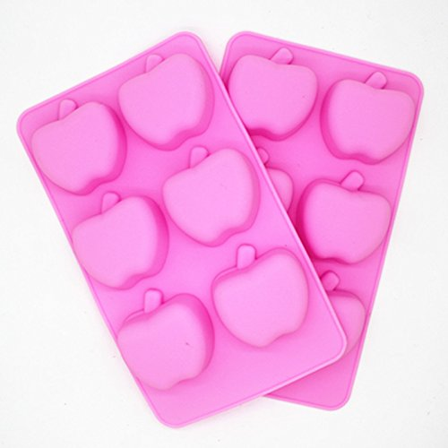 High Quality Apple Shape Silicone Cake Mould, Cake Decoration, Chocolate Baking Mould for parties Shujon