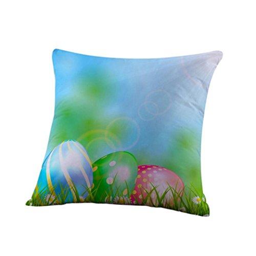 Mokao Easter Cotton Pillow Case(45cmX45cm) (G)