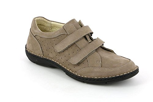 SC3360 Rino Taupe 40 Pelle Scarpa GRUNLAND Uomo 7aAwfqnxd