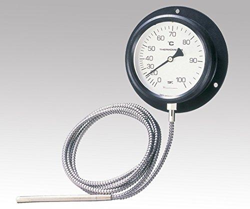 佐藤計量器製作所1-2584-02壁掛け式隔測温度計0~100℃ B07BD354QZ