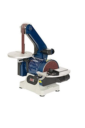 RIKON Power Tools 50-151 Belt with 5'' Disc Sander, 1'' x 30'', Blue
