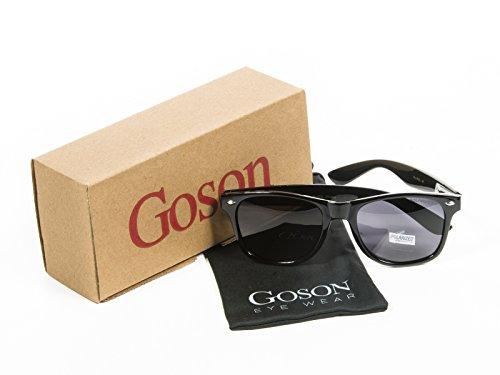 Goson Polarized Wayfarer UV400 Protection Retro Classic - Polarizes