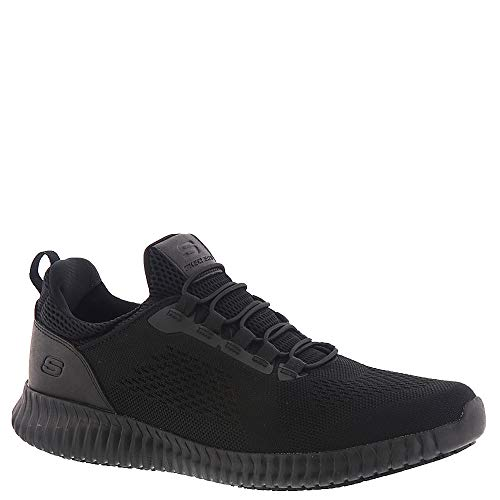 - Skechers Work Relaxed Fit: Cessnock Sr Black Blk Mens Sneakers Size 10M