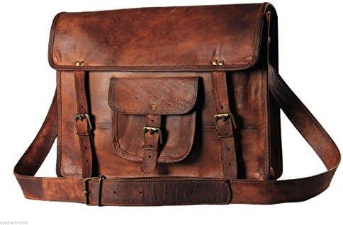 I pad Tablet Mens genuine leather small case satchel shoulder passport man bag