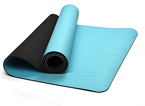 GTVERNH-Printed yoga mat gym mat thickening anti slip yoga mat Pu Rubber Yoga Mat 60180cm (CM) by GTVERNH