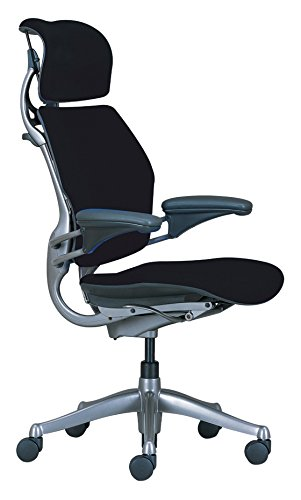 Freedom Task Chair with Headrest and Standard Duron Armrests, Standard Arms with Matching Material