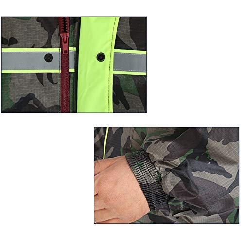Split Donne Riding Fertilizzante Pants color Yellow Aumentare 5xl Più Extra E Large Set Impermeabile Guyuan Rain Uomini Raincoat Green Size tqfEcPaZH