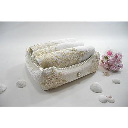 Serra Home Hotel y Spa toallas de francés cesta de encaje y de dote (3