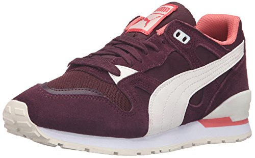 PUMA Women's Duplex Classic Wn's Fashion Sneaker, Winetasting/Whisper, 9.5 M US