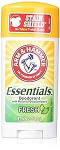 ARM & HAMMER Essentials Natural Deodorant Fresh 2.50 oz (Pack of 3)