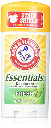 ARM & HAMMER Essentials Natural Deodorant Fresh 2.50 oz (Pack of -