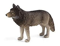 MOJO Timber Wolf Standing Toy Figure