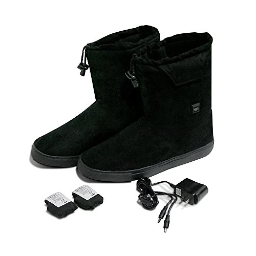 SunB Rechargeable Heated Warm Shoes Boots With 3.7V 3.6AH Lithium Battery