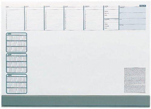 Quo Vadis 50 Feuillets Hebdomadaires 1 Sous-main SU 7600-60x42cm