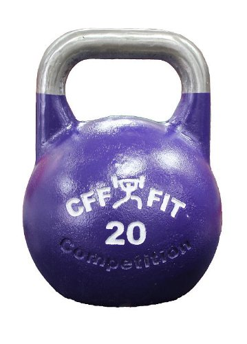 CFF 20 kg Pro Competition Russian Kettlebell (Girya) Great for Cross Training and MMA Training! by CFF