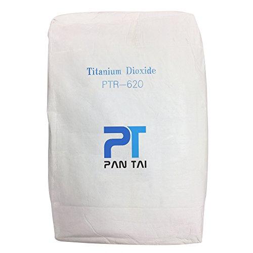 Dioxide Titanium (Titanium Dioxide Cosmetic Grade Soap Making, Crafts, Paints and Pigment Colorant Resealable Pouch TiO2 PTR-620 10lb)