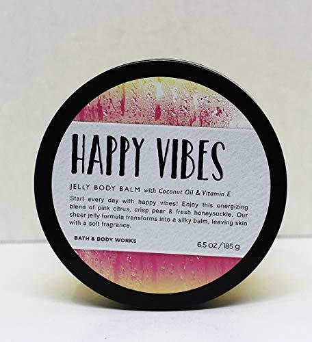(Bath and Body Works HAPPY VIBES Jelly Body Balm 6.5 oz)