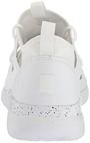 Reebok Womens Cardio Motion Sneaker Bianco / Nero / Argento Opaco