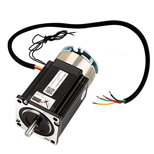 Stepper Motor - 57hs22 S Nema23 2 Phase Stepper Motor With Brake 2.2n.m Shaft Diameter 8mm - Board Unipolar Reduction Extension Gearbox Rail Dual Cable Maxima 2005 Extruder Hobby Splitter Spee