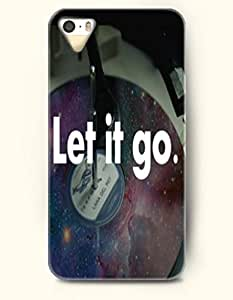 iPhone 4 4S Case OOFIT Phone Hard Case **NEW** Case with Design Let It Go - - Case for Apple iPhone 4/4s