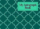 My Autograph Book: Blank Keepsake Memory Log Book