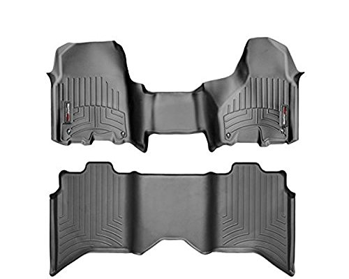 Weathertech 444771-442163 Black FloorLiners DigitalFit