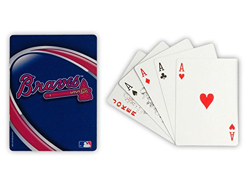 Atlanta Braves Poker Sized Playing - Hot Women Atlanta