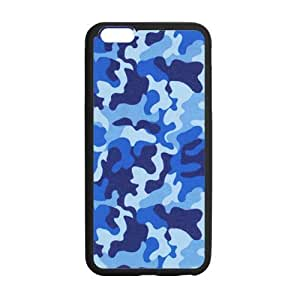 """Tony Diy Blue Disruptive pattern cell phone case cover for iPhone 9vO9Kv7EiJd 6 plus 5.5"""""""