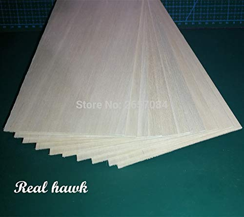 - Best Quality - Parts & Accessories - 250X100X1Mm Excellent Quality Model Balsa Wood Sheets for Rc Military Models Etc Smooth DIY - by Wood Shelf - 1 Pcs - Balsa Wood Cross
