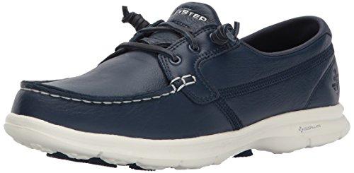 Skechers Performance Women's Go Step-14447 Boating Shoe,Navy,8 M US
