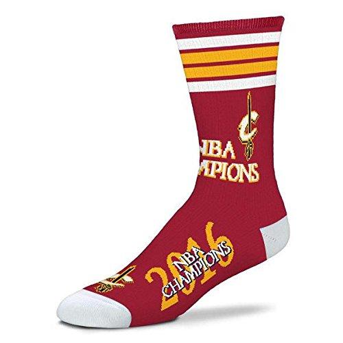 For Bare Feet NBA 4 Stripe Deuce Crew Men Socks