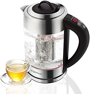 Aigostar Electric Glass Kettle with