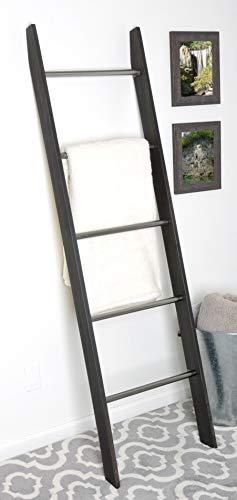 - BrandtWorks, LLC AZ212L Decorative Blanket Ladder 20 x 72 x 3.5 Ebony