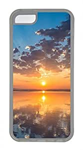 iPhone 5c case, Cute Sunset iPhone 5c Cover, iPhone 5c Cases, Soft Clear iPhone 5c Covers