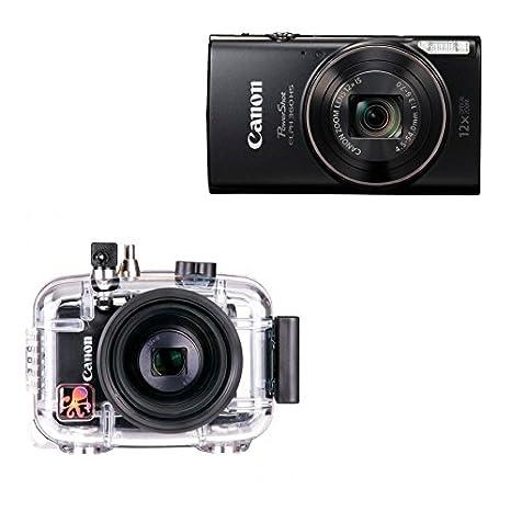 Canon Ikelite carcasa submarina y Canon 360hs cámara: Amazon ...