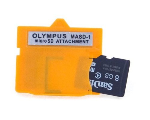 - NEON Olympus MASD-1 xD Picture Card card adapter for microSD / microSDHC