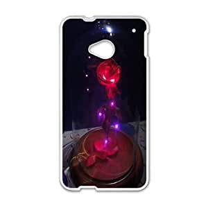 HTC One M7 Phone Case White Beauty and the Beast The Enchanted Christmas MN6625037