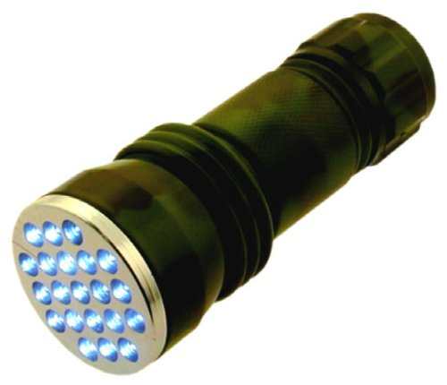 3-3 4 inch 21 LED Camouflage Flashlight With Batteries Included