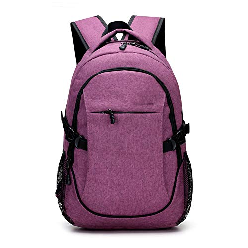 JITALFASH New Men Backpacks Canvas School Backpack For Teenager Girls Boys 14-16Inch Men